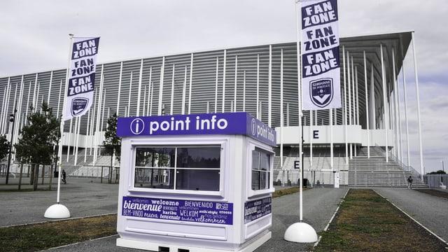Das Stade Matmut Atlantique in Bordeaux.