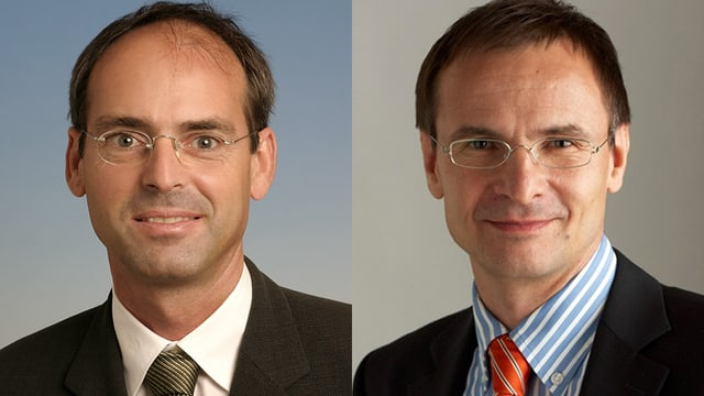PD Dr. Oliver Hausmann und Prof. Andreas Raabe