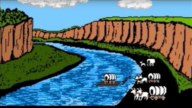 Eine Grafik eines Flusses