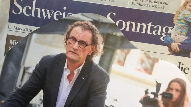 Zeitungsausschnitt Schweiz am Sonntag