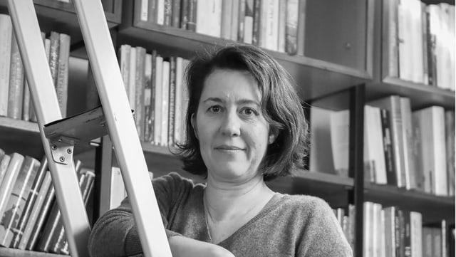 Porträt von Petra Hartlieb.