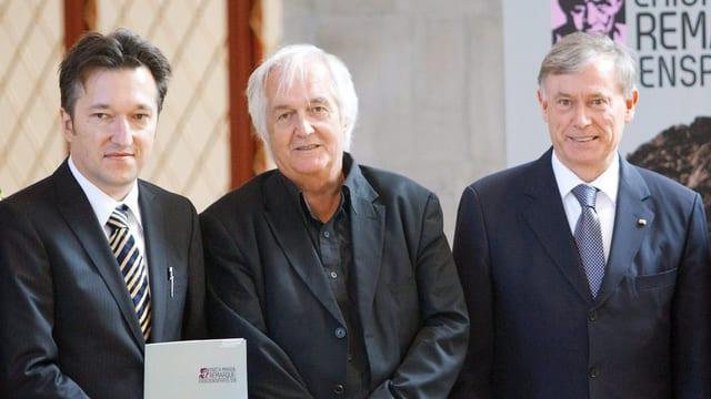 Bärfuss, Mankell und Köhler.