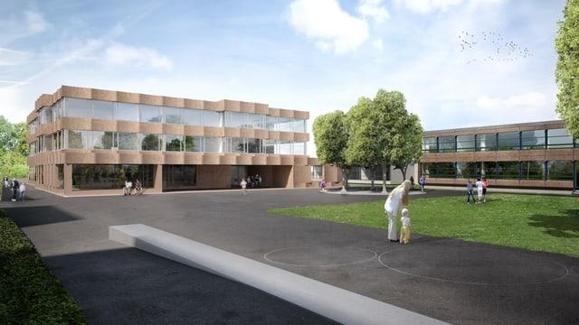 Schulhaus, Visualisierung