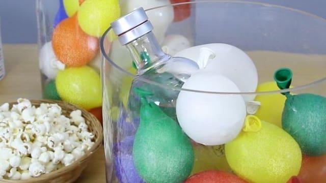 Wasserballon-Kühler