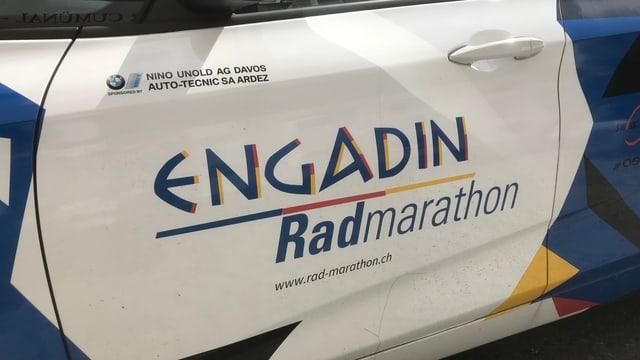 Logo maraton da velo Zernez