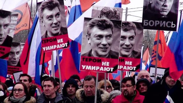 Video «Boris Nemzow – Tod an der Kremlmauer» abspielen