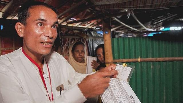 Video «Rohingya in Bangladesch: Warten auf die Rückkehr in die Heimat» abspielen