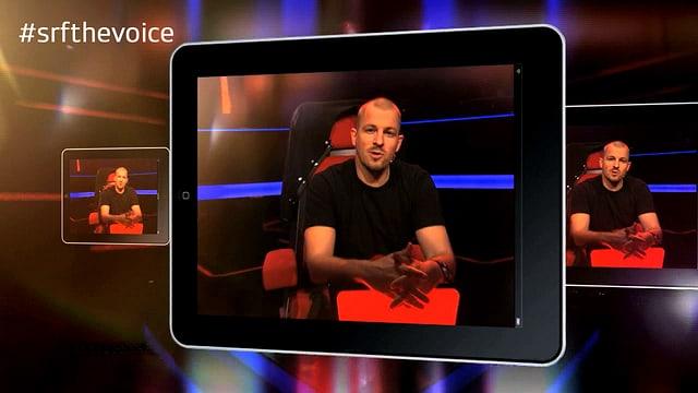 iPad mit Coach Stress auf einem iPad