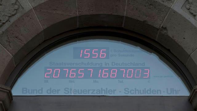 Gia la fin d'october 2011 muntavan ils daivets statals da la Germania a passa 2'000 milliardas euros.