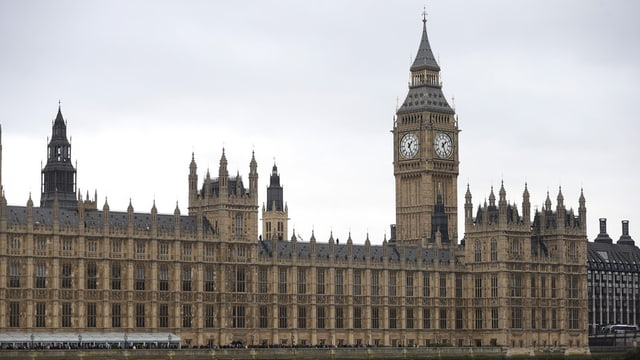 Vista sin il «House of Parliament» a Londra-
