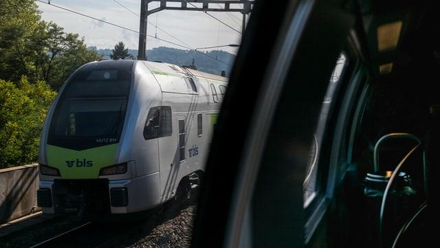 Ein BLS-Zug.