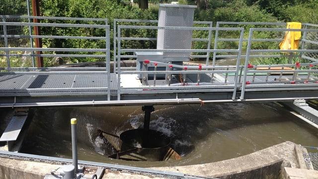 Wasserwirbelkraftwerk Schöftland