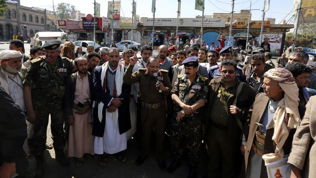 Adherents da Huthi.