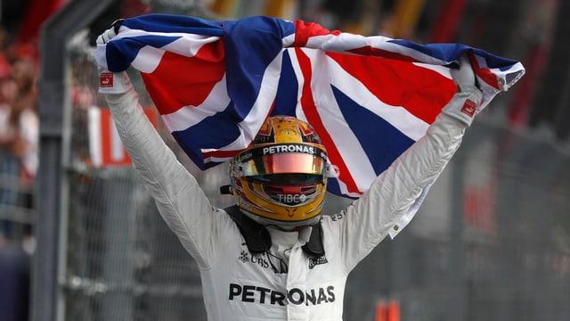 il pilot da furmla 1, Lewis Hamilton
