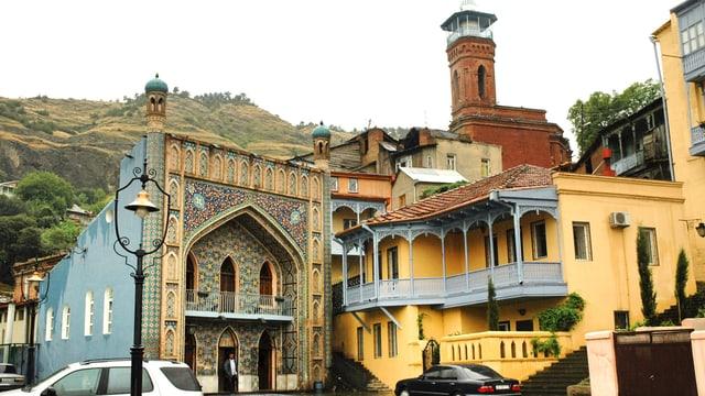 Aussenansicht der Moschee.