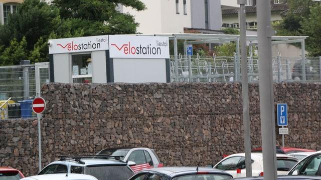 Velostation am Bahnhof in Liestal