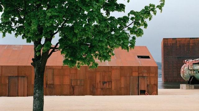 Das rostige «Restaurant Nannini» an der Expo02 in Murten. Ein privater Verein will es in Uster wieder aufstellen.