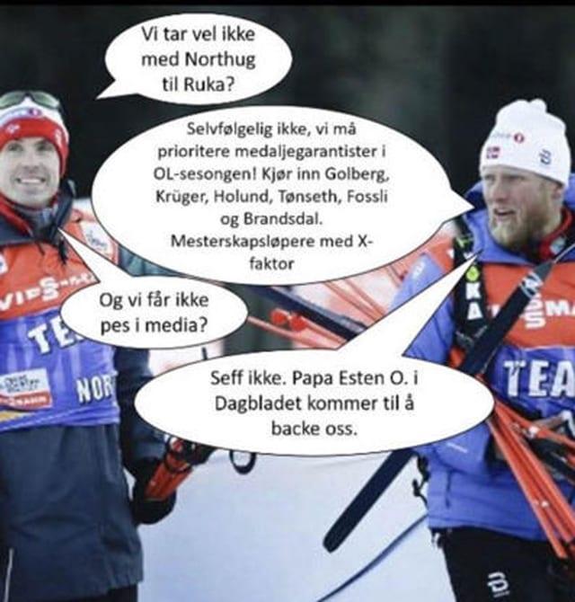 Zwei Langlauftrainer