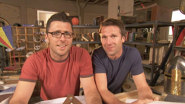 Die Re-Inventors Matt Hunter und Jeremy MacPherson.