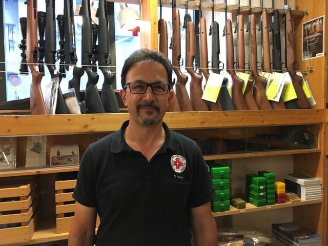 Daniel Wyss, Präsident des Büchsenmacher- und Waffenhändlervereins