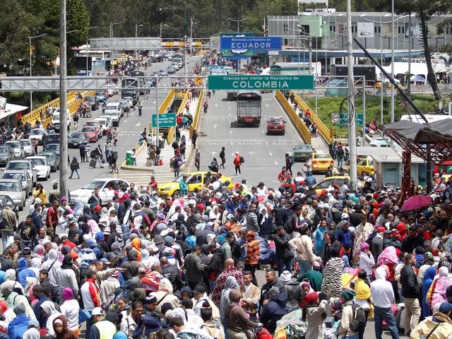 kolumbianisch-ecuadorianische Grenze