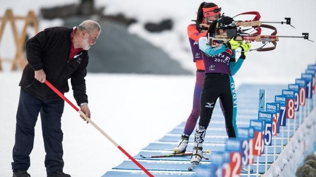 Biathlon-Schiessstand