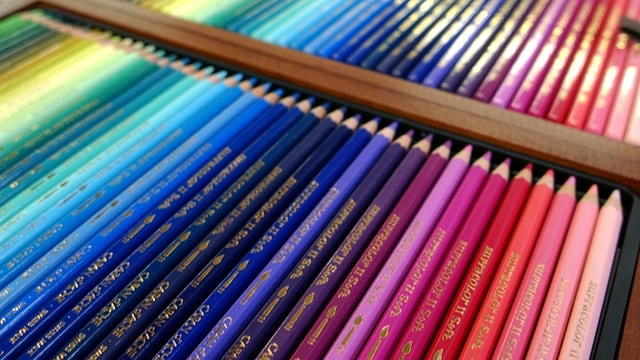 Farbstifte von Caran d'Ache