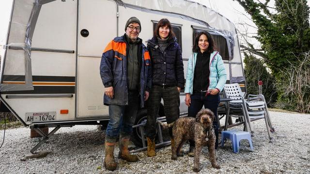 Video «Anja Kinsky und Claude Wegmann in Italien» abspielen