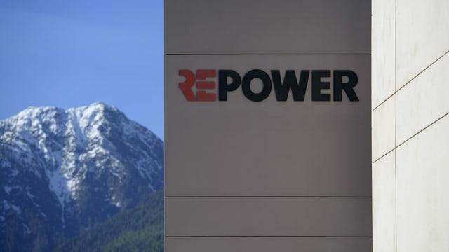 Logo da la Repower vi d'in bajetg.
