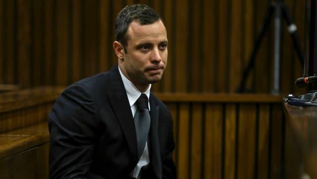 Porträt von Oscar Pistorius.