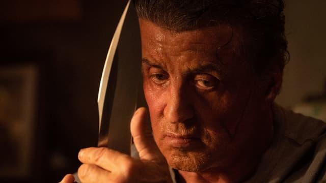 Rambo und sein legendäres Messer.