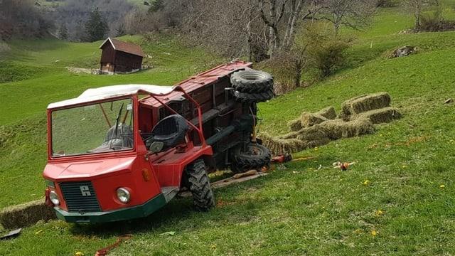 Vehichel agricul ch'è sa derschì.
