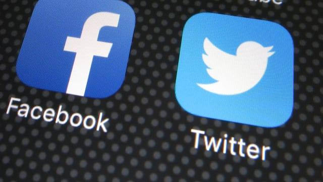 Logo Facebook und Twitter