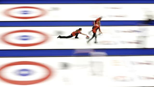 Die Curling-WM der Frauen ist in vollem Gange.