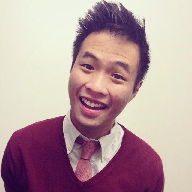 Portrait eines jungen Asiaten