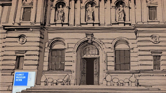 Illustration: Fassade des Kunstmuseums Bern.