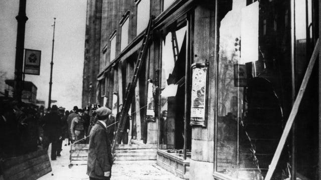 Die Reichspogromnacht – auch Kristallnacht genannt – in Deutschland darf nicht verharmost werden durch unpassende Vergleiche.
