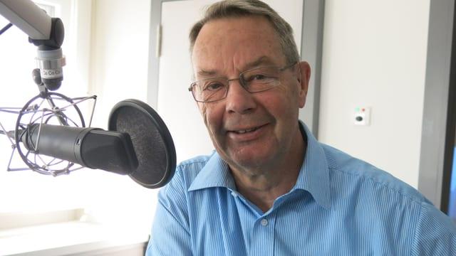 Der 68-jährige Viktor Furrer aus Stans kennt das Frauenkloster St. Klara aus Kindertagen.