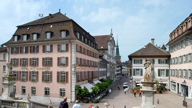Das Traditionshotel Krone in Solothurn