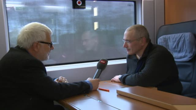 Gysling interviewt Chodorkowski.