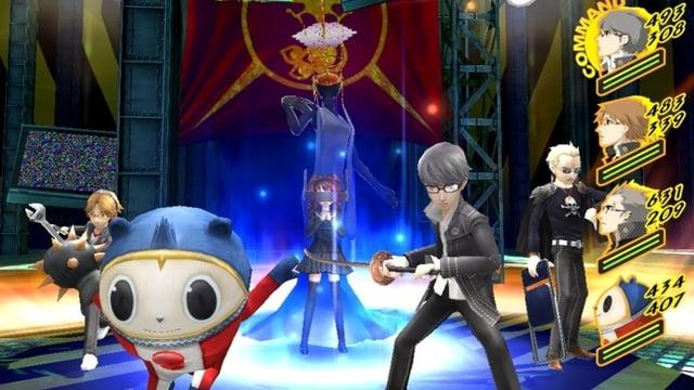 Ein Screenshot des Computerspiels «Persona 4 Golden»
