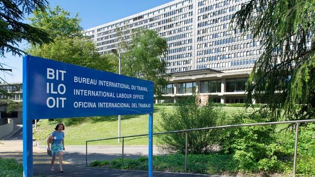 Das Gebäude der Internationalen Arbeitsorganisation