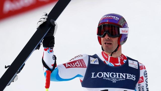 Adrien Theaux war in Kvitfjell der Schnellste.