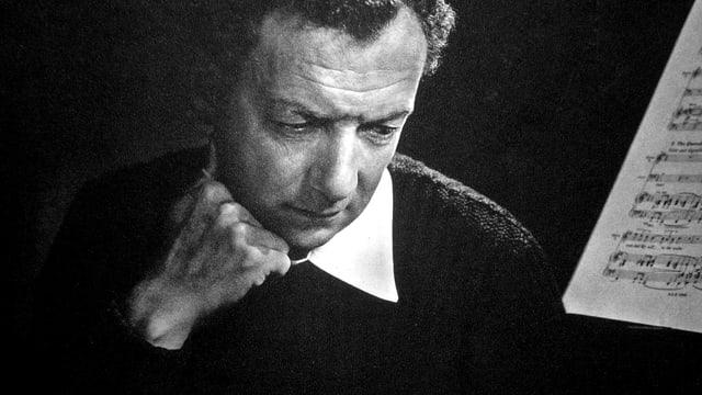 Portraitaufnahme des britischen Komponisten