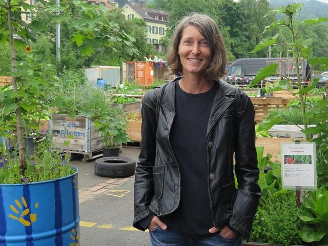 Gabriela Falkner, Co-Präsidentin des «Lattich»