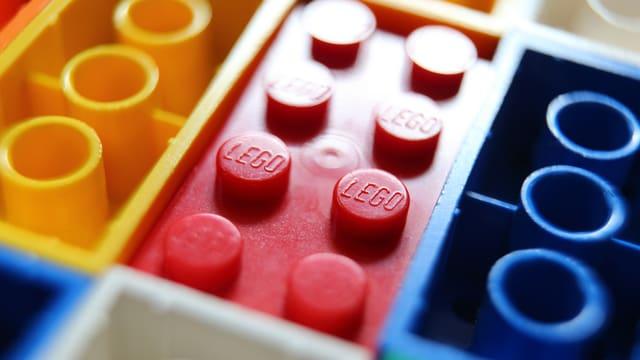 Lego-Bauklötzchen.