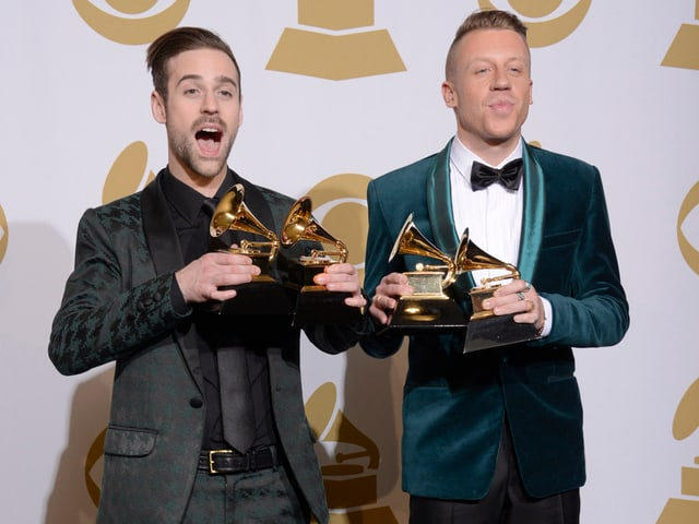 Das Rap-Duo Macklemore & Ryan Lewis.