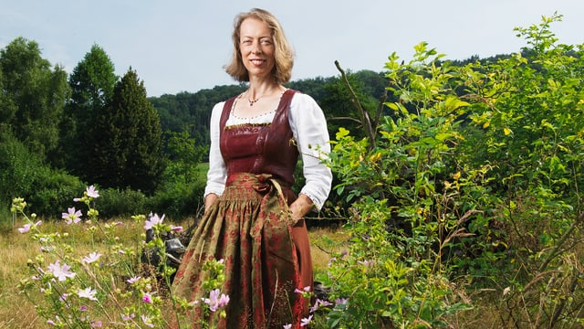 Video ««SRF bi de Lüt – Landfrauenküche» (3): Sybille Meyer, Freiamt, AG» abspielen