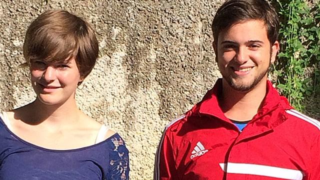 Zwei junge Auslandschweizer im Portrait