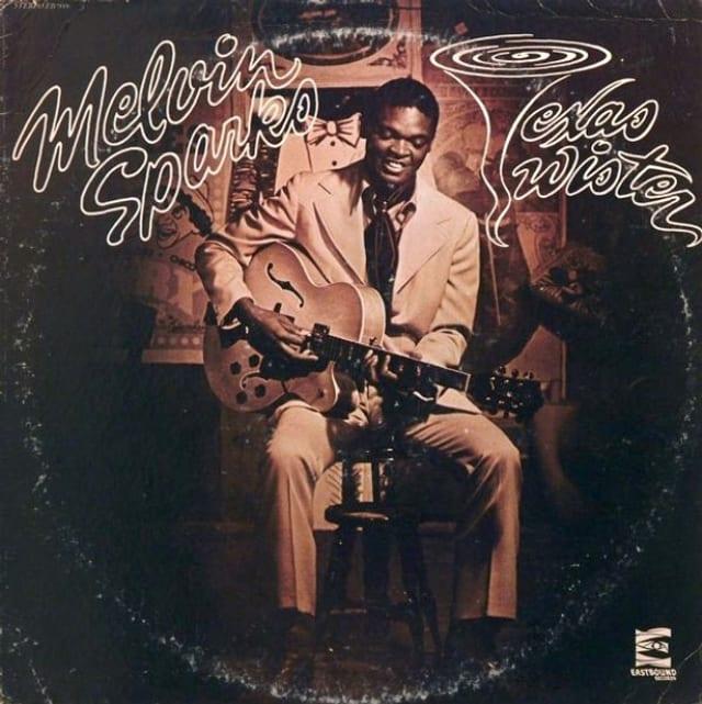 """Plattencover zu """"Texas Twister"""" von Melvin Sparks"""